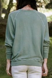 The Great College Sweatshirt With Crest Graphic - Front full body