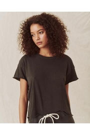 The Great Crop Tee Washed Black - Product Mini Image