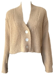 The Great Cropped Montana Sweater - Front cropped