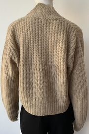 The Great Cropped Montana Sweater - Back cropped