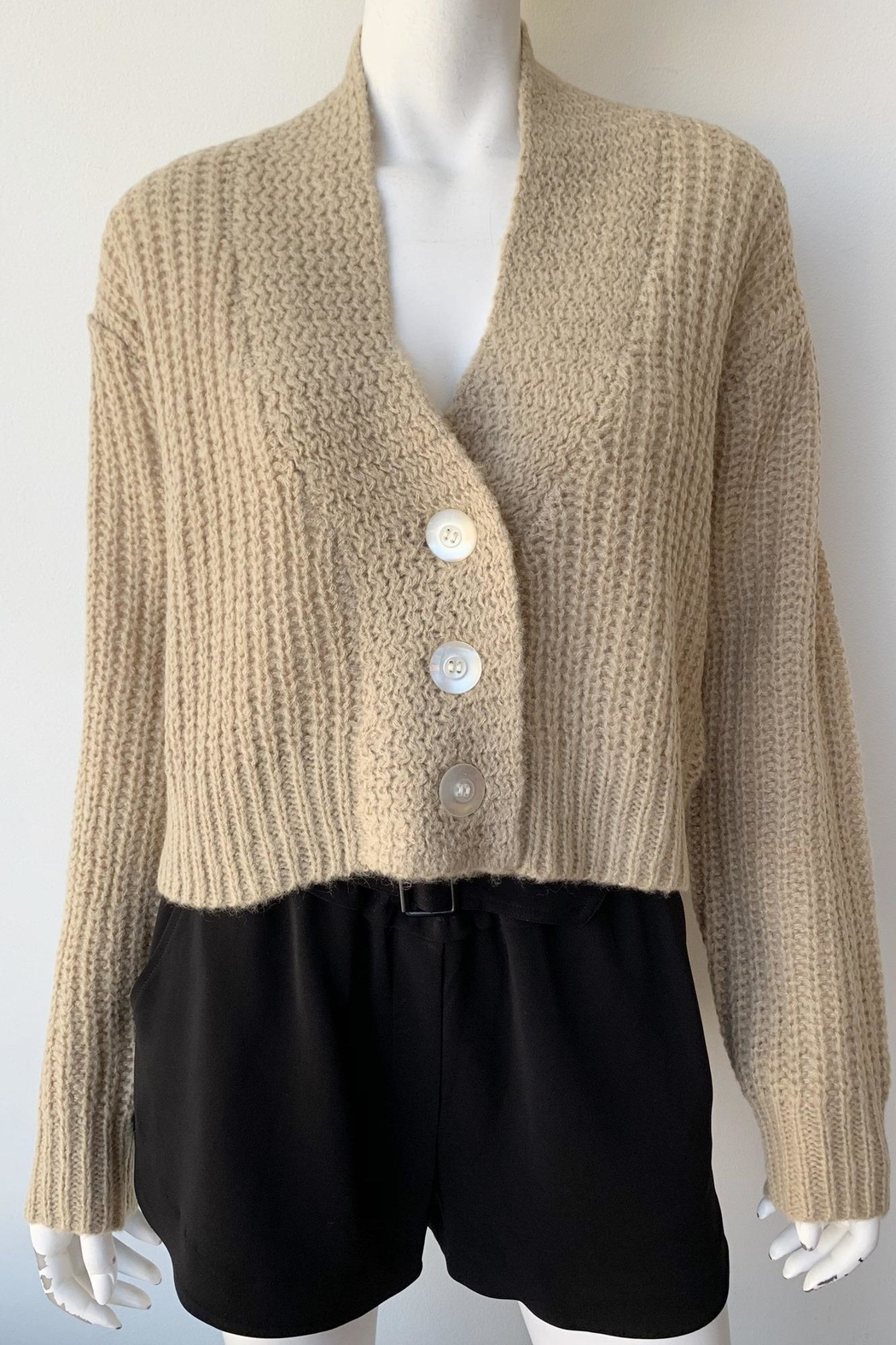 The Great Cropped Montana Sweater - Front Full Image