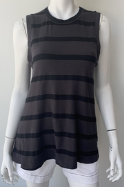 The Great Sleeveless Striped Crew - Front full body