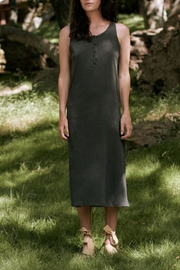 The Great Slim Henley Tank Dress - Product Mini Image