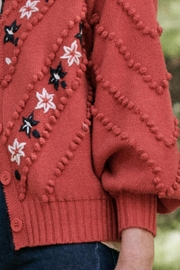 The Great The Meadow Bobble Cardigan - Back cropped