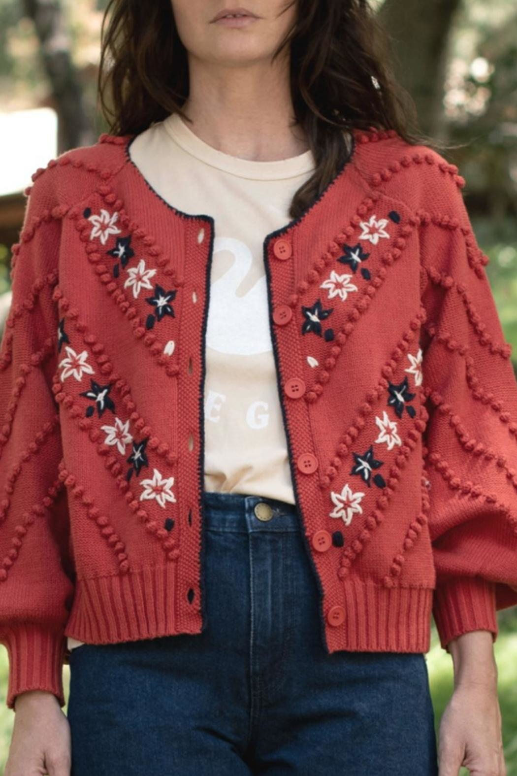 The Great The Meadow Bobble Cardigan - Main Image