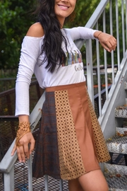 The Habit: Art! A-Line Skirt - Front cropped