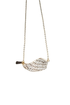 Shoptiques Product: Angel Wing Necklace