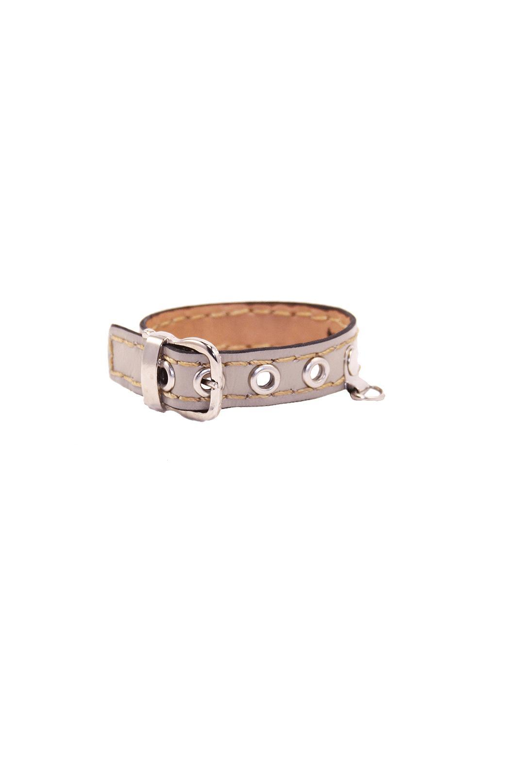 The Habit: Art! Buckle Leather Bracelet - Main Image