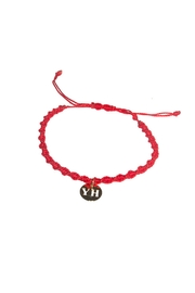 The Habit: Art! Chinese Thread Bracelet - Front cropped
