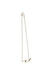 The Habit: Art! Evil Eye Choker Necklace - Front cropped