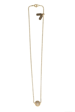 Shoptiques Product: Pave Slide Ball Pendant