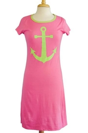 The Haley Boutique Ancho Preppy T-Dress - Product Mini Image