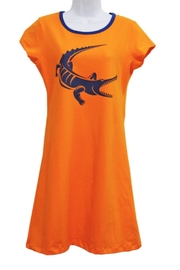 The Haley Boutique Gators Gameday T-Dress - Front cropped