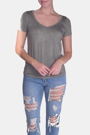 the Hanger Acid Wash V-Neck - Product Mini Image