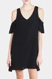 the Hanger Black Cold Shoulder Dress - Product Mini Image
