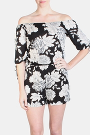 the Hanger Black Lotus Romper - Product Mini Image