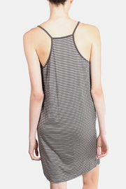 the Hanger Charcoal Striped Cami Dress - Side cropped