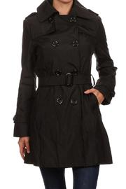 the Hanger Fitted Trench Coat - Product Mini Image