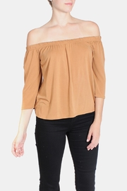 the Hanger Off Shoulder Carmela Blouse - Product Mini Image