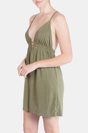 the Hanger Olive Easy Wear Dress - Product Mini Image