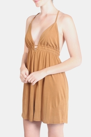 the Hanger Orange Easy Wear Dress - Front cropped
