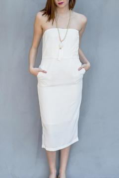 the Hanger Pencil Strapless Dress - Product List Image