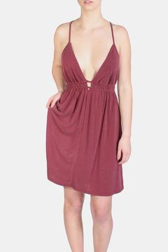 the Hanger Plum Sophisticated Easy Dress - Product List Image