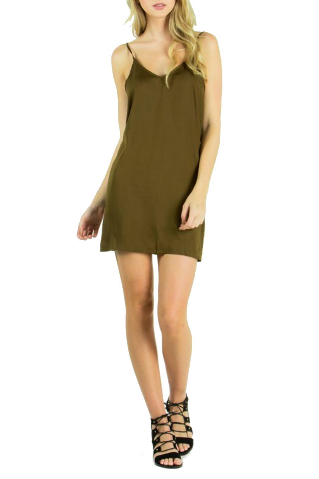 the Hanger Silk Slip Dress - Main Image