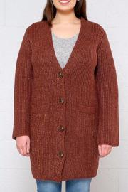 the Hanger Speckled Cardigan - Product Mini Image