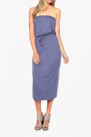 the Hanger Strapless Jersey Dress - Product Mini Image