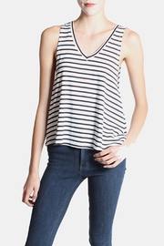 the Hanger Striped Tank In White - Product Mini Image
