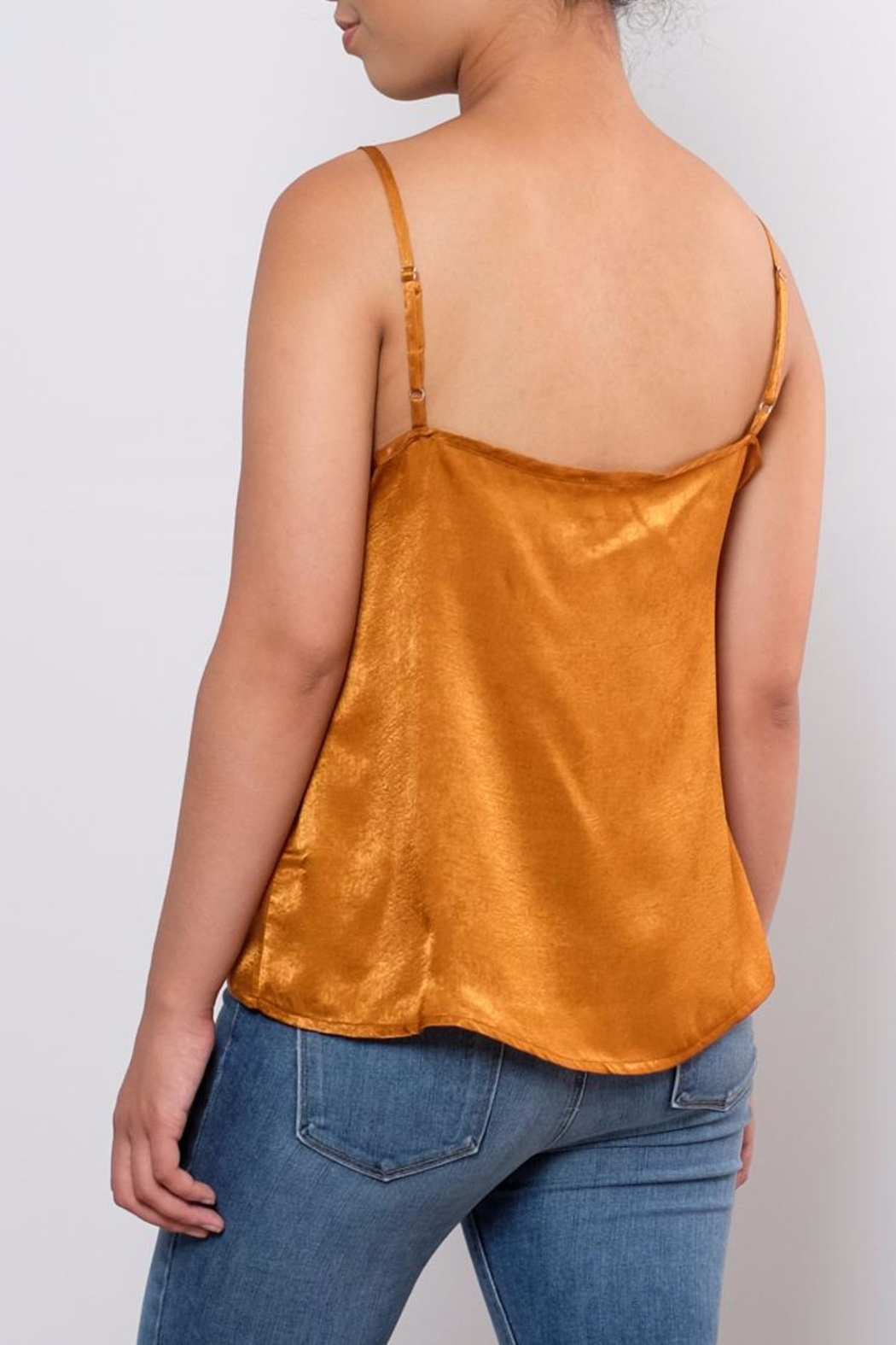 the Hanger Willow Satin Cami - Side Cropped Image