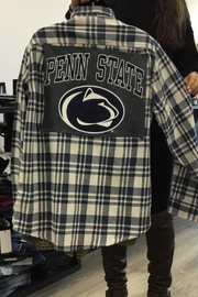 The Hanger Boutique  Custom College Flannel - Product Mini Image