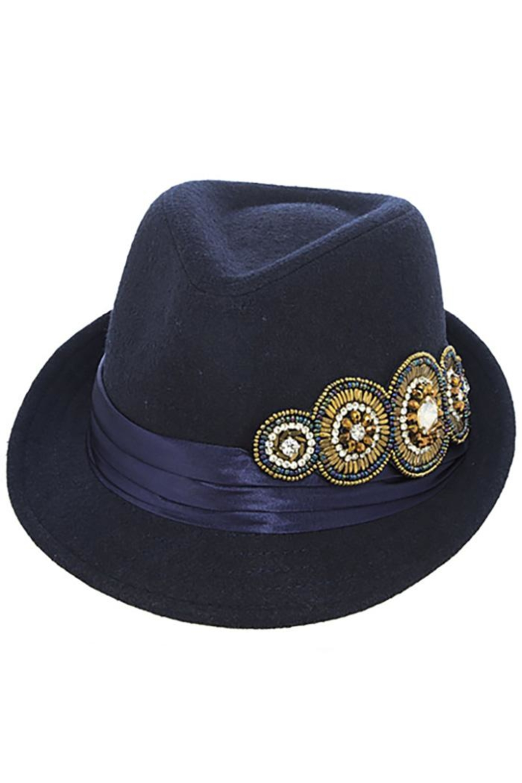 The Hatter Company Bead Accent Hat - Main Image