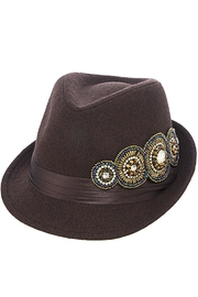 The Hatter Company Bead Accent Hat - Product Mini Image