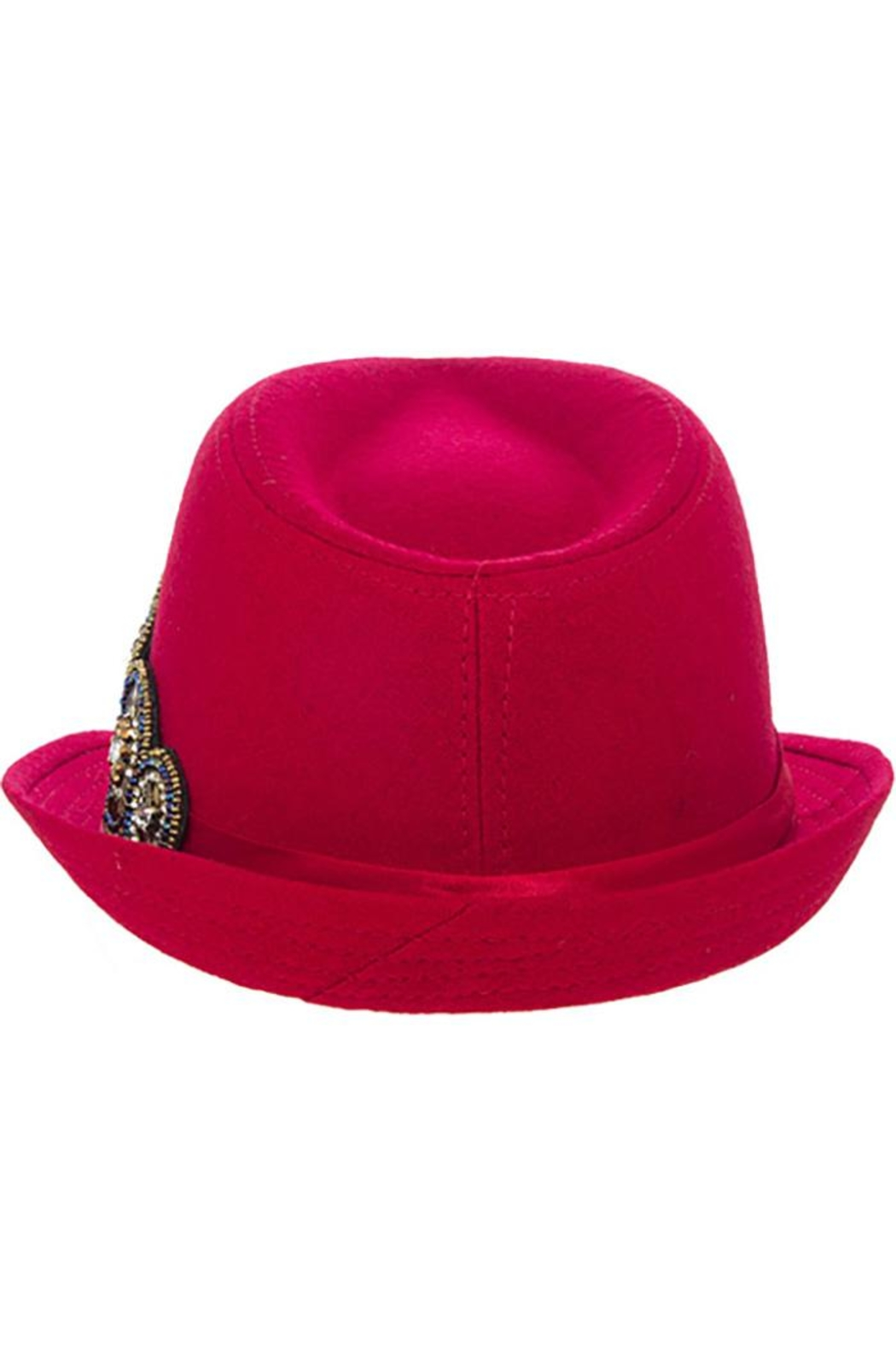 The Hatter Company Bead Accent Hat - Side Cropped Image