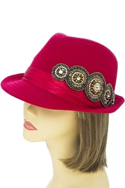 The Hatter Company Bead Accent Hat - Other