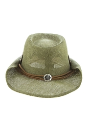 The Hatter Company Beaded Leaf-Accent Hat - Other