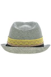 The Hatter Company Button Lace Fedora - Front full body