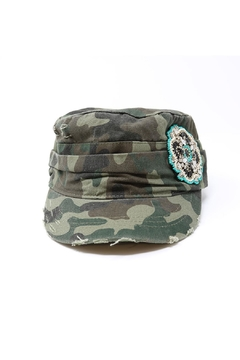 The Hatter Company Camouflage Military Hat - Product List Image