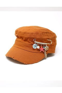 Shoptiques Product: Charm Pin Military-Hat
