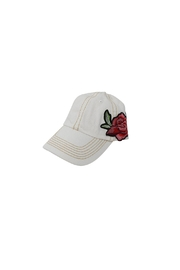 The Hatter Company Floral Baseball Cap - Front full body