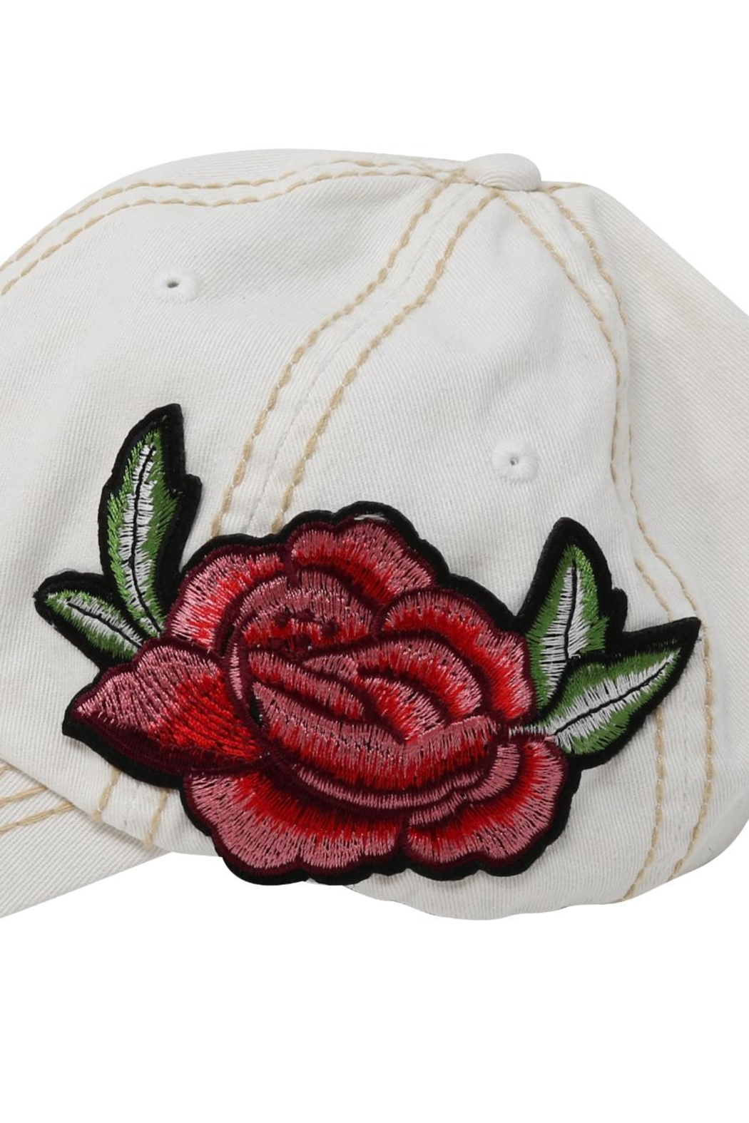 The Hatter Company Floral Baseball Cap - Side Cropped Image
