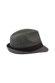 The Hatter Company Floral Patch Fedora Hat - Other