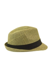 The Hatter Company Floral Patch Fedora Hat - Side cropped