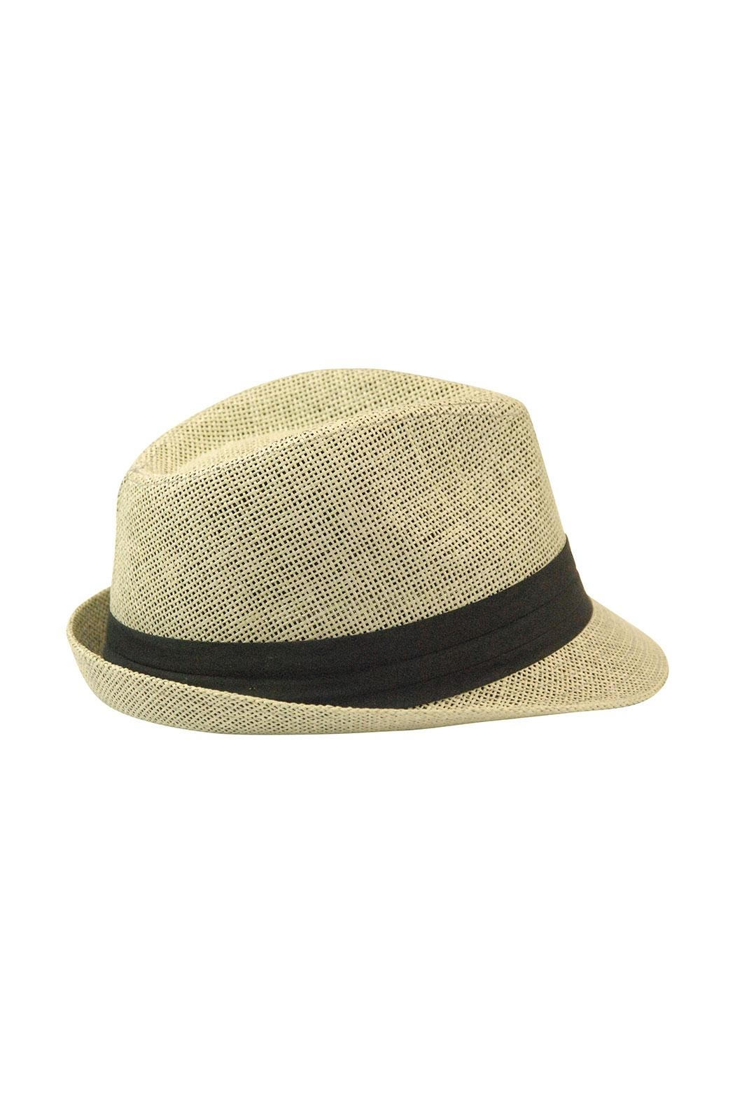 The Hatter Company Floral Patch Fedora Hat - Side Cropped Image