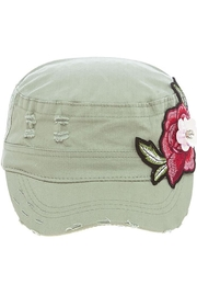 The Hatter Company Rose Patch Military-Hat - Product Mini Image
