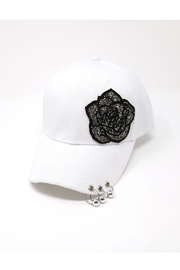 The Hatter Company Rose Patch Pierced-Cap - Product Mini Image