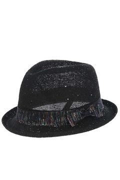 The Hatter Company Sparkly Woven Fedora - Alternate List Image