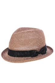 The Hatter Company Sparkly Woven Fedora - Product Mini Image